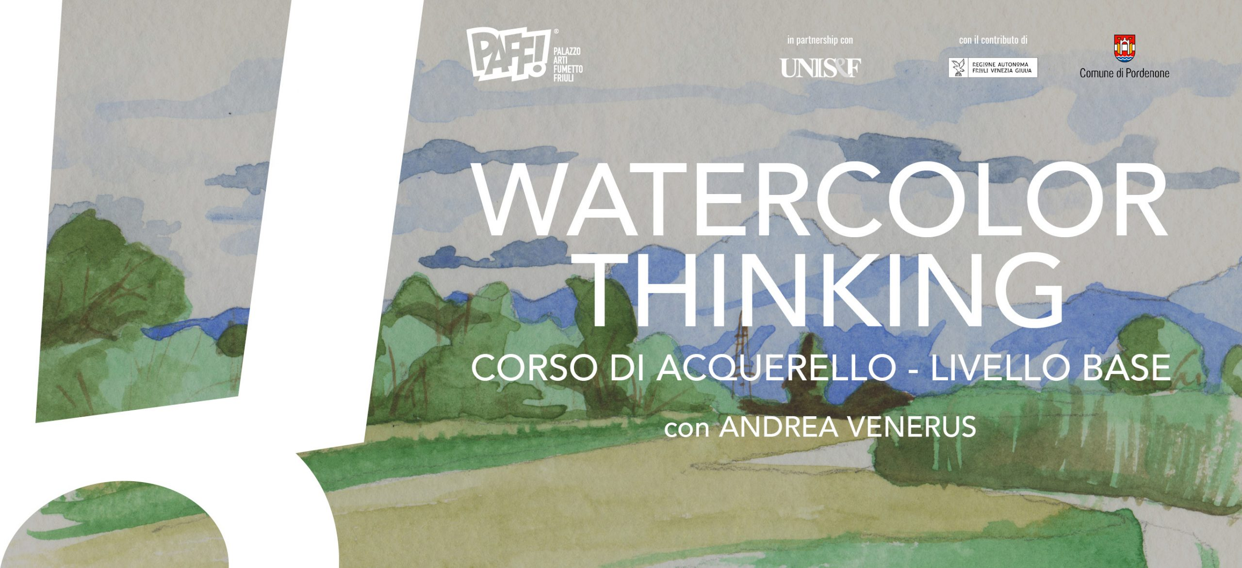 Watercolor Thinking - Corso di Acquerello: livello base