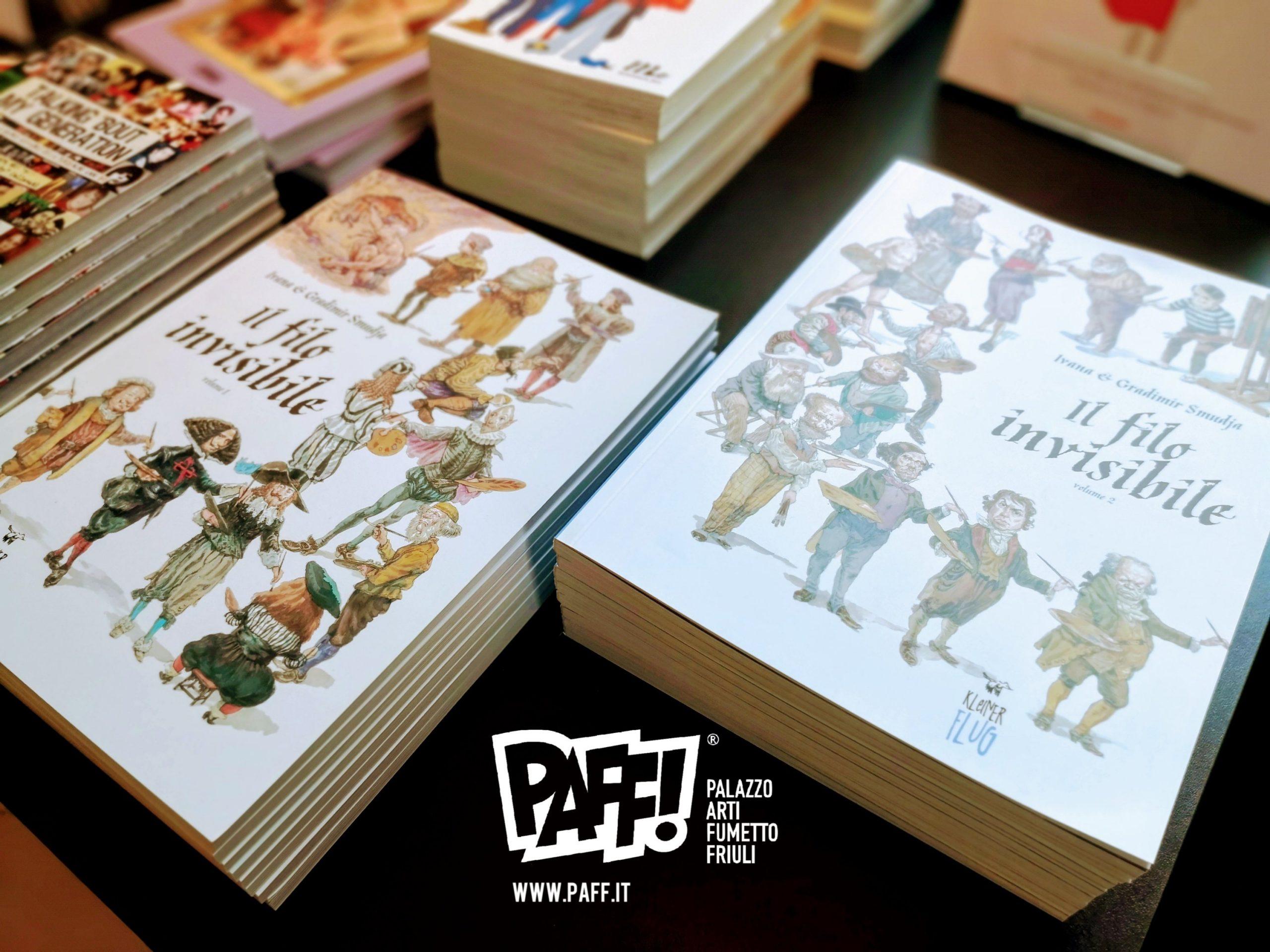 Smudja e la storia dell'arte a fumetti in italiano al PAFF!