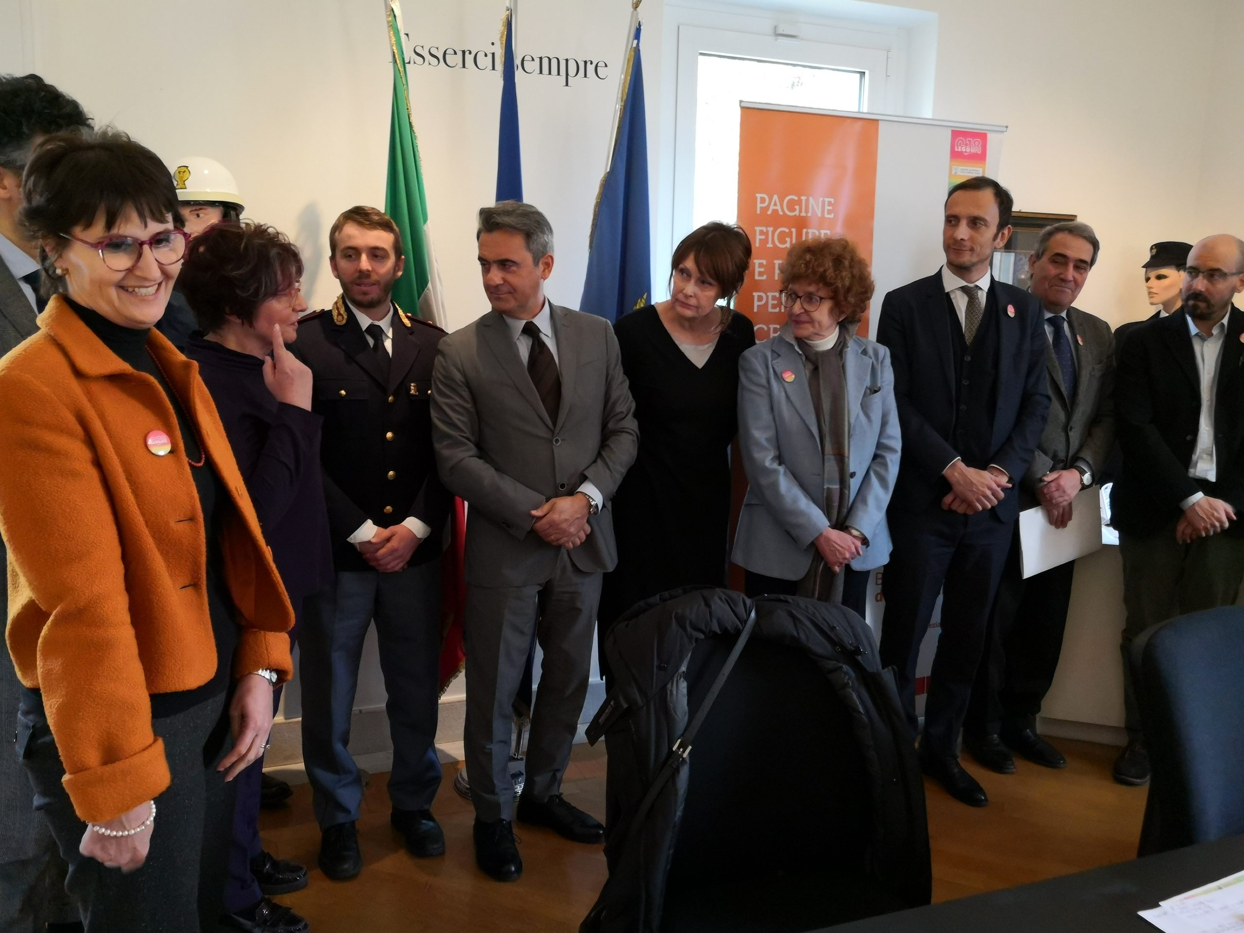 Biblioteca della legalità BILL sigla accordo con la Regione Friuli Venezia Giulia al Palazzo del Fumetto di Pordenone
