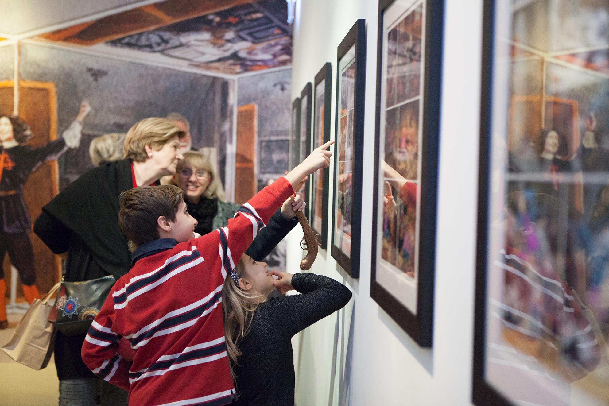 Visita guidata alla mostra per bambini + laboratorio
