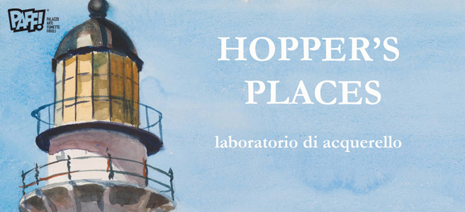 Hopper's places – Laboratorio di acquerello