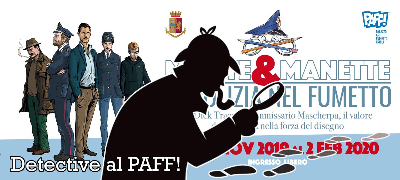 Detective al PAFF! – Matite e Manette