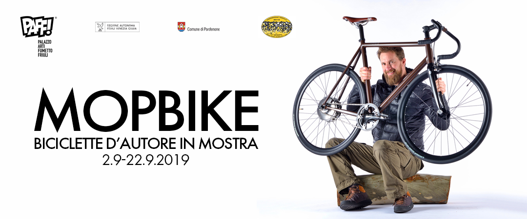 Mopbike: biciclette d'autore in mostra