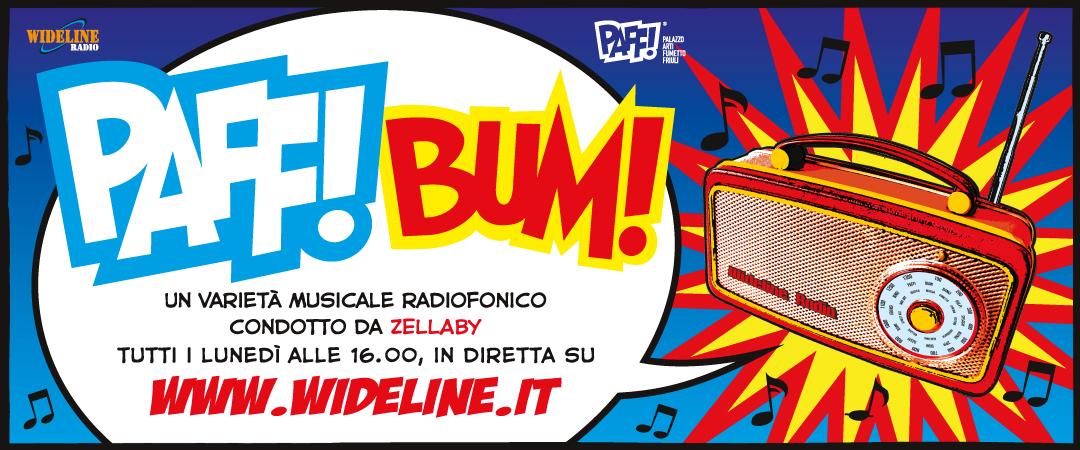 Radio PAFF! – BUM! Programma radiofonico in diretta con Anna Corai