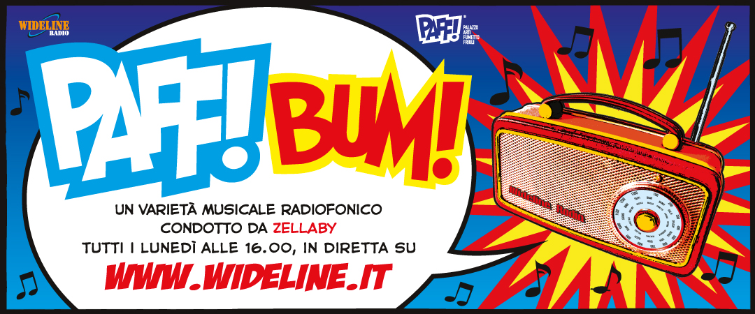 Radio PAFF! – BUM! Programma radiofonico in diretta con Alessandra Palombini