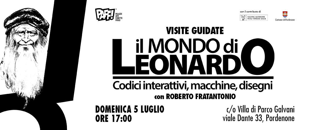 Visita guidata alla mostra di Leonardo Da Vinci