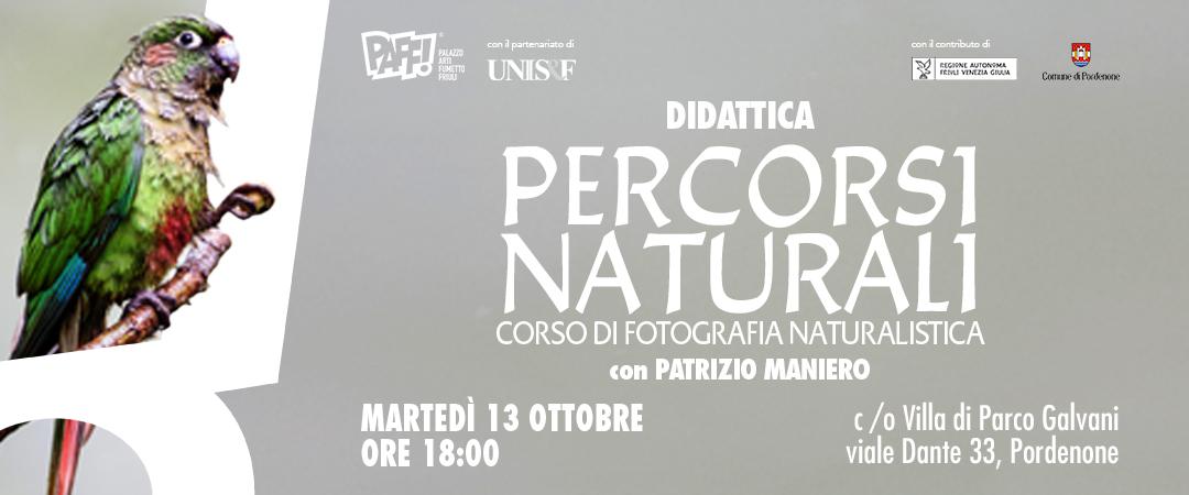 Percorsi Naturali – Corso di Fotografia Naturalistica