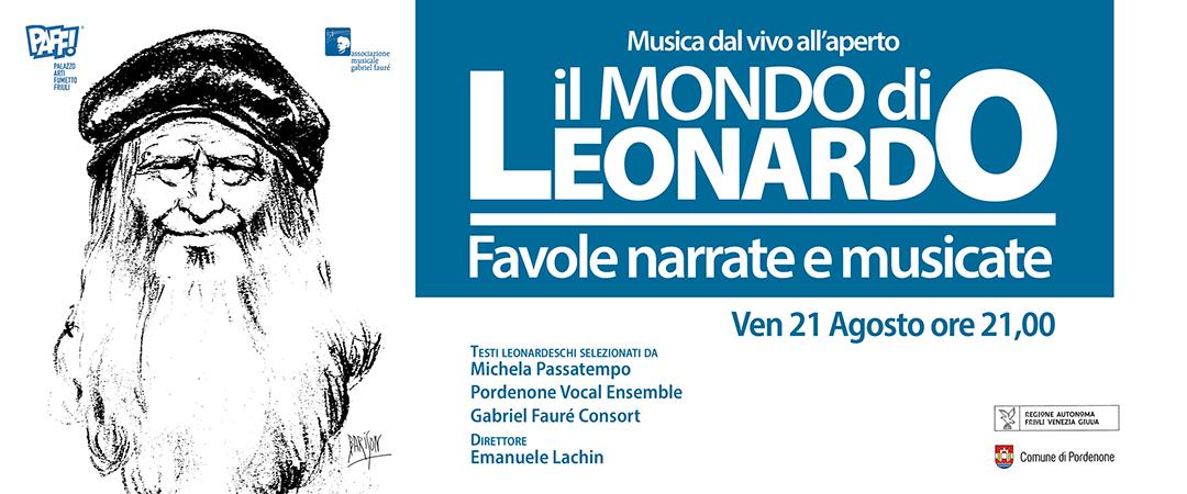 il Mondo di Leonardo: Favole narrate e musicate