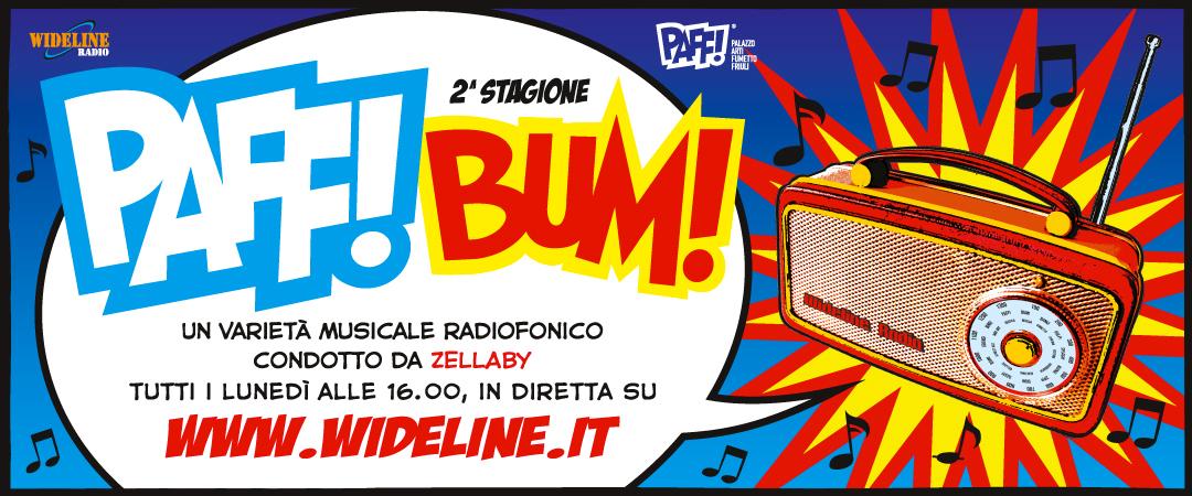 Radio PAFF! BUM! Programma radiofonico in diretta con Claudio Scircoli