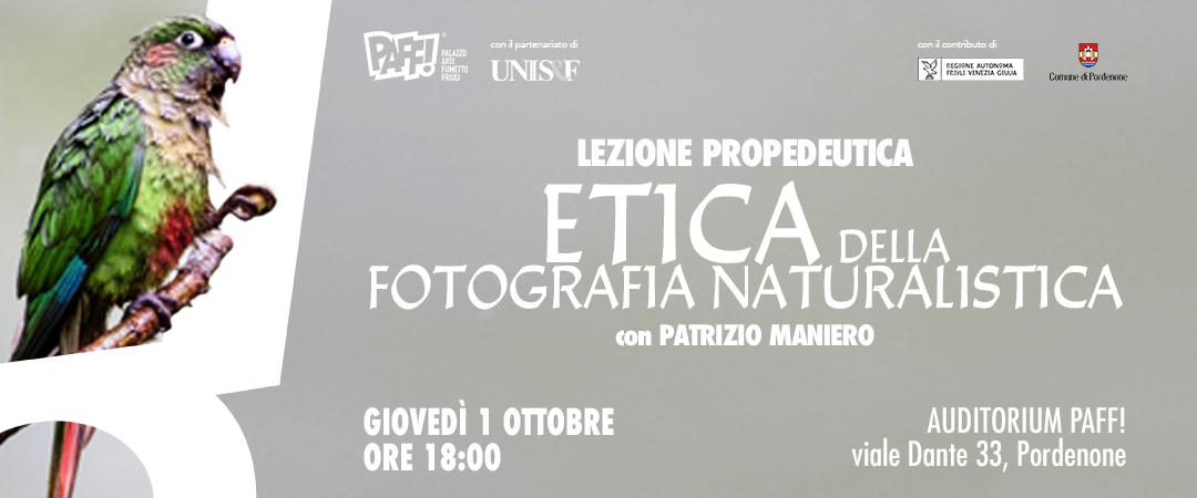 Etica della fotografia naturalistica
