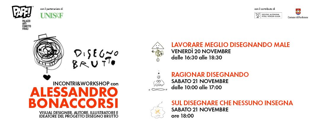 Incontri e Workshop con Alessandro Bonaccorsi