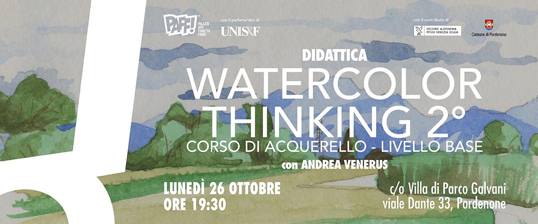 Watercolor Thinking 2° – Corso di Acquerello: livello base