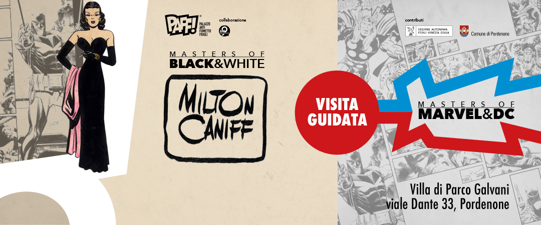 "Visita guidata alle mostre ""Masters of B&W"" e ""Masters of Marvel & DC"""