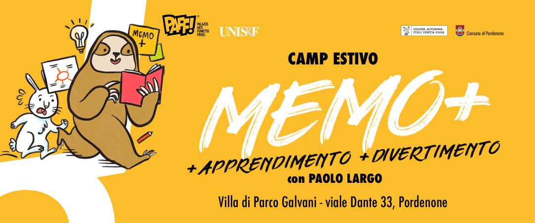 Camp estivo MEMO+