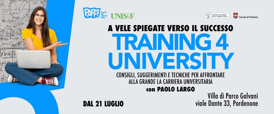Training 4 university – Studio efficace con il metodo MEMO+