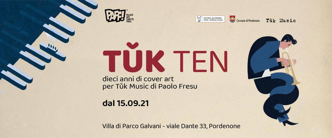 TǓK TEN, i dieci anni di cover art di Tǔk Music