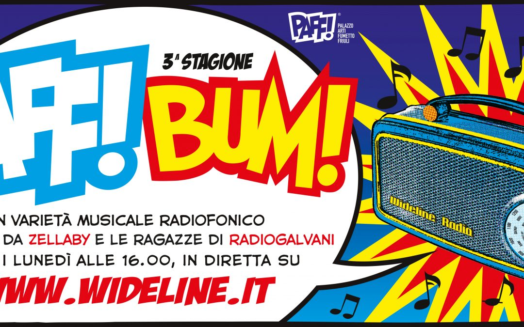 Radio PAFF! BUM! Programma radiofonico in diretta con Willem De Graeve